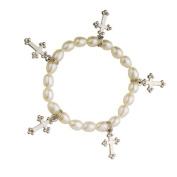 Alexa's Angels White Cross Children's Faith Bracelet