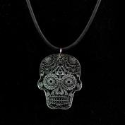 Sugar Skull Necklace - Acrylic