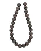 Tennessee Crafts 1313 Semi Precious Red Garnet Round Beads, 8mm
