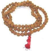 Rudraksha Prayer Mala 8mm ~ 108 Bead