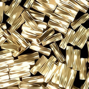Twist Tube Gold Filled Beads Small 14/20 Gf 1mm X 4mm