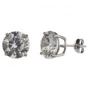 New 925 Silver 2.75 Carat Earrings