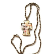 Kelly Rae Roberts Love Wins Cross Necklace - Unique Jewellery Necklace Earrings 102188KRR