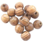 20mm Rosary Beads (60 beads) - Bethlehem Olive wood