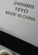 """Ribbon, Elastic Velvet, Black 10mm (3/8"""") , Sold Per 15 Yards"""