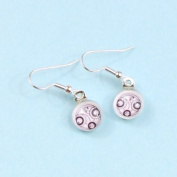 Doctor Who Jewellery Earrings, Time Lord Hanging Silver Earrings,