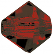 Mode Beads MC302-6/9011 Preciosa Crystal Bicones, 2 Gross Package, Garnet
