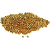 700 Round Beads Gold Plated Beading Ball Stringing 4mm