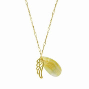 Alexa's Angels Gold Angel Wing Necklace
