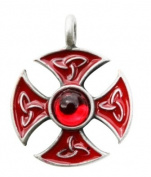 Knights Templar Consecration Cross Talisman for Nobility and Higher Purpose Pendant Amulet