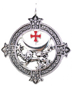 Knights Templar Lion Talisman for Power and Success Pendant Amulet
