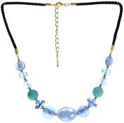 "Lova Jewellery ""Heaven"" Hand-blown Venetian Murano Glass Necklace"