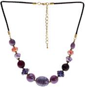 "Lova Jewellery ""Pure Violet"" Hand-blown Venetian Murano Glass Necklace"