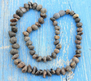 Authentic Raw Black Baltic Amber Necklace