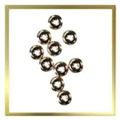 14kt Gold Smooth Spacer Bead 3.4mm Tiny