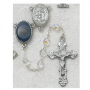 6MM Crystal Lourdes Rosary