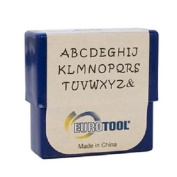 Aras Alphabet Stmp Set- 2mm Upper Case - PUN-750.00