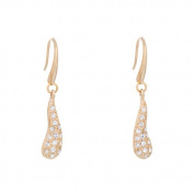 Annaleece Crystal Rain Earrings. Elements DeVries Hypoallergenic Nickel-Free 4262-ANNA