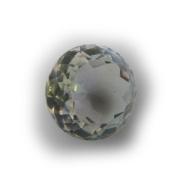Rock Crystal Round Quartz Facet Unset Gemstone Loose Genuine Natural 22mm
