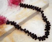 Rhodolite Garnet Faceted Drop Shape 82-87 Beads Strand String