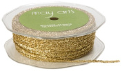 May Arts Ribbon, Gold Metallic String