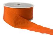 May Arts 3.8cm Wide Ribbon, Orange Solid