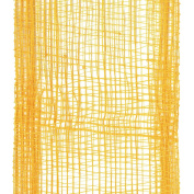 Offray Lions Web Mesh Craft Ribbon, 3.8cm Wide by 50-Yard Spool, Gold