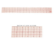 C-Thru Inch Ruler. Inches broken down in 16ths. Overall length