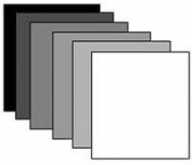 BDigital Mount Board 8x10 Smooth Black Front, Smooth White Back, White Core, 4 Ply