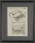 Apple Computer Patent Art Wall Hanging 11x14 | Computer Programmer Gift