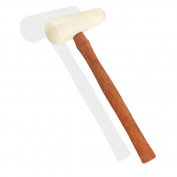 Pear-Shape Poly-Head Mallet Maple Hardwood Handle
