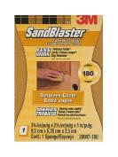 3M SandBlaster Sanding Pads or Standing Sponges 180 grit sanding sponge [PACK OF 4 ]