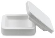 Mayco Slump & Hump Plaster Moulds - 7 1/2 x 7 1/2 x 2 1/2 - Square