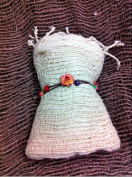 """""""Natural Cotton Scarf"""" Make By Hand Woven"""