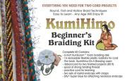 Kumihimo Braiding Project Kit (includes the KumiLoom