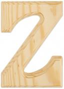 Juma Farms Decorating Wood Letter, 15cm , Letter Z