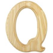 Juma Farms Decorating Wood Letter, 15cm , Letter Q