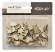 Noted - Wood Veneer Birds