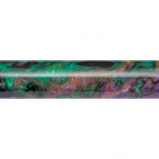 Pen Blank, Abalone Inlace Acrylester