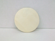 Unfinished Wooden 7.6cm Round Circle Cutout