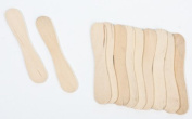 Package of 180 Miniature Unfinished Wood Craft Spoons