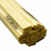 Midwest Products 6048 Micro-Cut Quality Balsa 90cm Strip Bundle, 0.3cm x 1cm