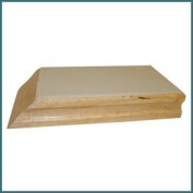 Tile Beating Block - Rubber Bottom - Real Wood Construction