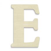 UNFINISHEDWOODCO Unfinished Wood Letter, 38cm , Monogrammed E, Large