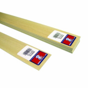 Midwest Products 4110 Micro-Cut Quality Basswood Sheet Bundle, 0.03x 2Inches x 60cm