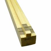 Midwest Products 6089 Micro-Cut Quality Balsa 90cm Strip Bundle, 1cm x 1.3cm