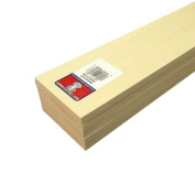 Midwest Products 4308 Micro-Cut Quality Basswood Sheet Bundle, 0.375x 3Inches x 60cm