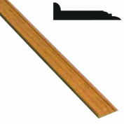 Midwest Products 3150 Miniature Mouldings Baseboard Moulding, Walnut