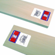 Midwest Products 4302 Micro-Cut Quality Basswood Sheet Bundle, 0.06x 3Inches x 60cm