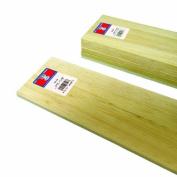 Midwest Products 6408 Micro-Cut Quality Balsa 90cm Sheet Bundle, 1cm x 10cm